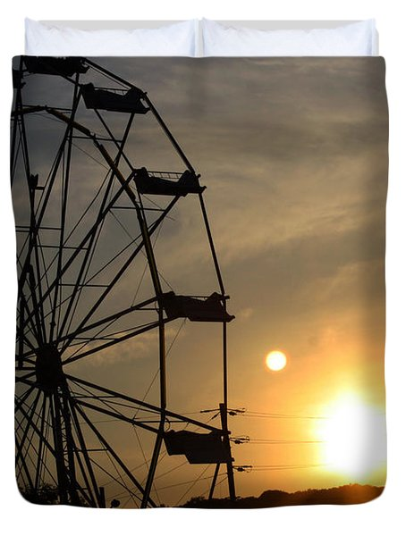 Where Has Summer Gone Duvet Cover by Tony Cooper