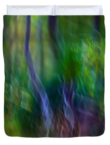 Whispers On The Wind Duvet Cover