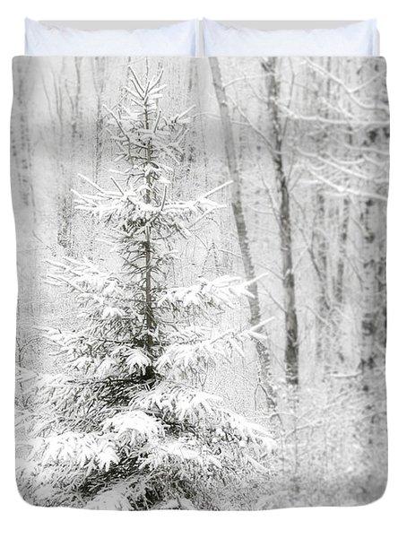 Whispers The Snow Duvet Cover