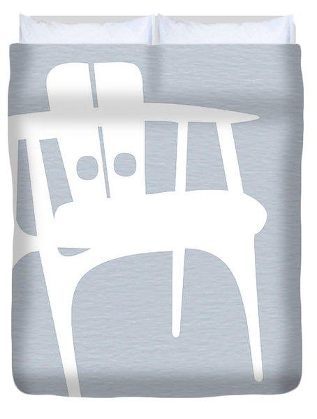 White Chair Duvet Cover