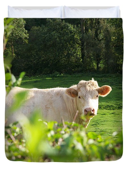White Cow Duvet Cover