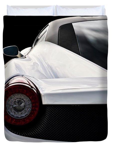 White Italia Duvet Cover by Douglas Pittman