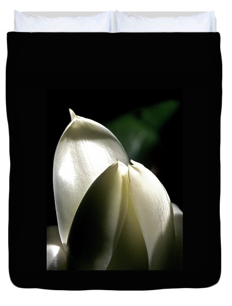 White Torch Ginger Duvet Cover