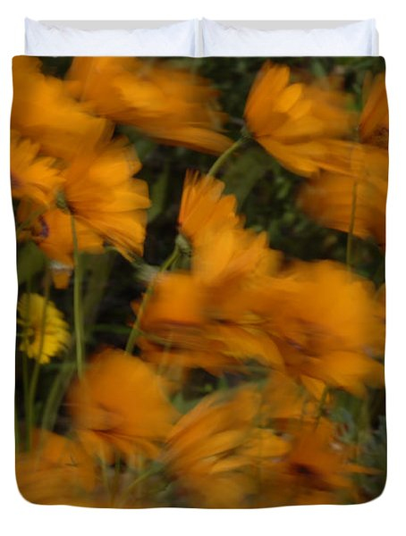 Who Has Seen The Wind Duvet Cover by Bob Christopher
