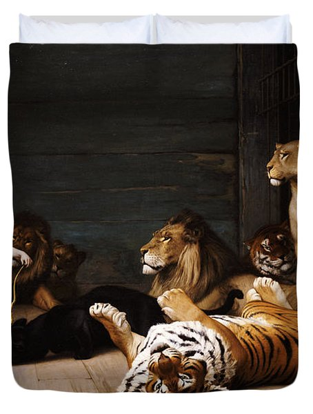 Whoever You Are Here Is Your Master Duvet Cover by Jean Leon Gerome