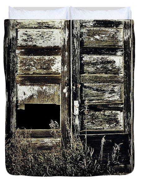 Wild Doors Duvet Cover by Empty Wall