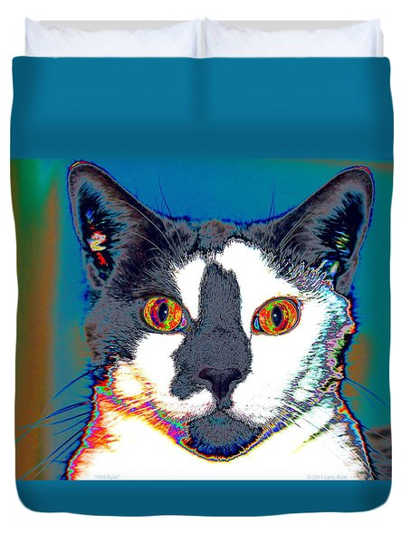 Wild Eyes Duvet Cover