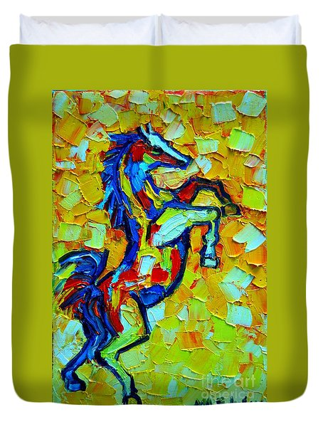 Wild Horse Duvet Cover by Ana Maria Edulescu