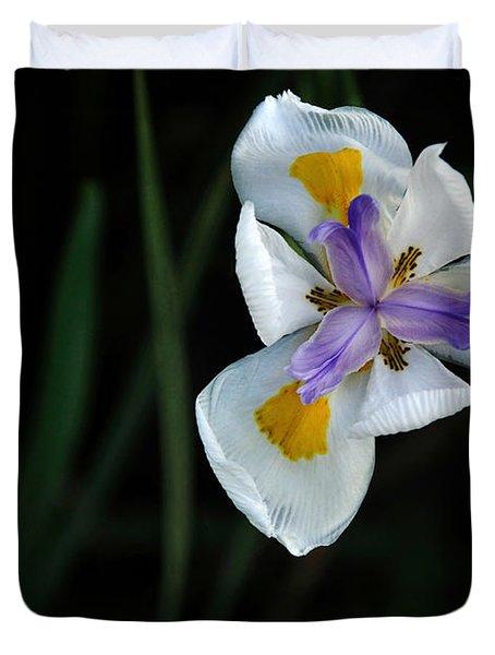 Wild Iris Duvet Cover by Kaye Menner