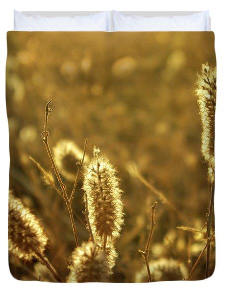Wild Spikes Duvet Cover by Carlos Caetano