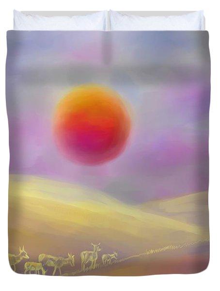 Wildfire Sunrise Duvet Cover