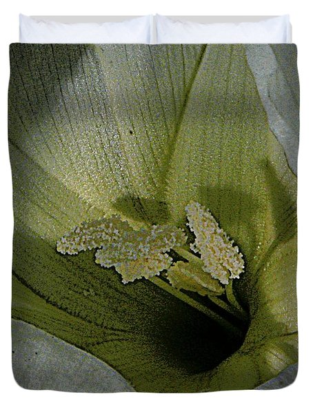 Wildflower Window Duvet Cover by Chris Berry