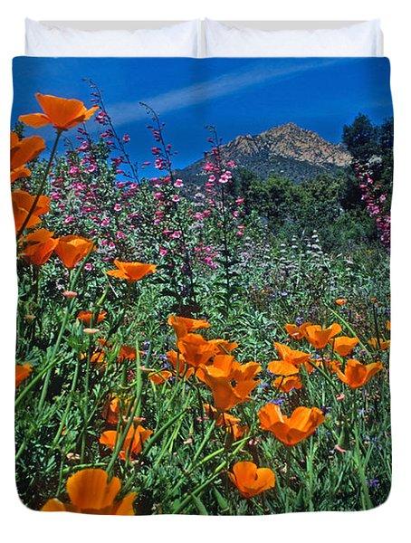 Wildflower Wonderland Duvet Cover by Kathy Yates