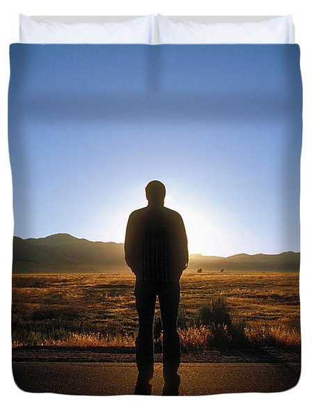 William Flocken Duvet Cover by Mark Greenberg