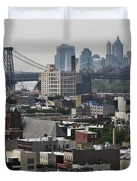 Williamsburg Bridge Duvet Cover