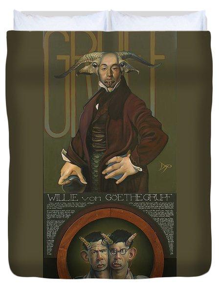 Willie Von Goethegrupf Duvet Cover by Patrick Anthony Pierson