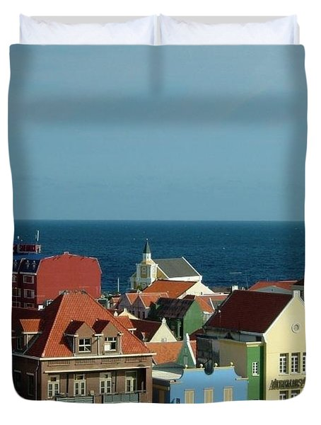 Williemstad Curacoa Duvet Cover