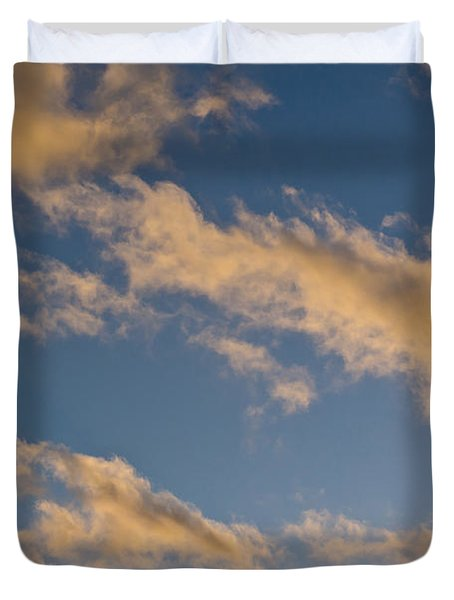 Wind Driven Clouds Duvet Cover by Mick Anderson