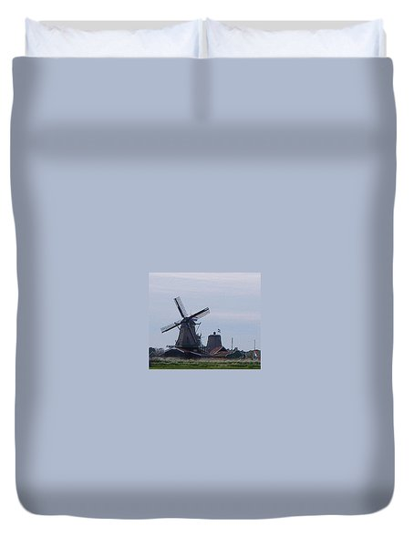 Windmill Duvet Cover by Manuela Constantin
