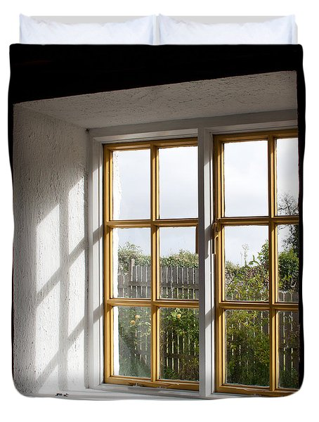 Window  Duvet Cover by Semmick Photo