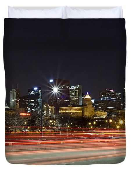 Windy City Fast Lane Duvet Cover