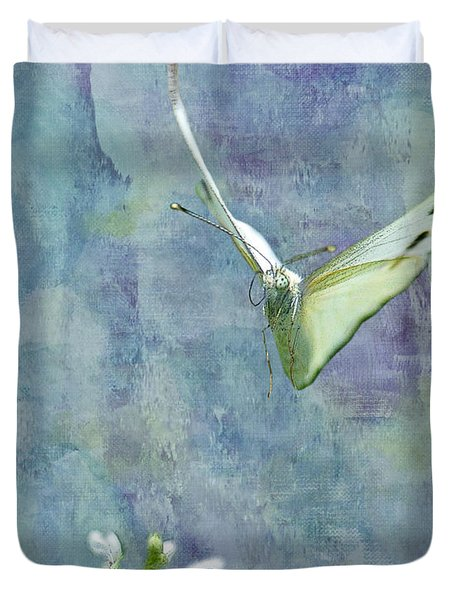 Winging It Duvet Cover by Betty LaRue