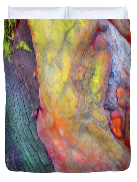Duvet Cover featuring the digital art Winning Ticket by Richard Laeton