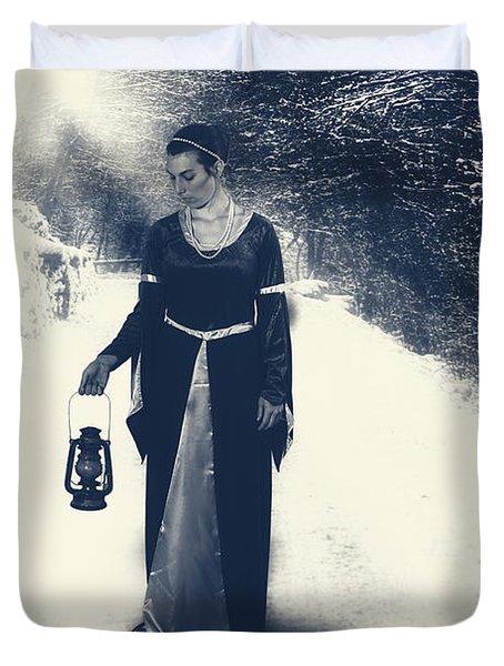 Winter Duvet Cover by Joana Kruse