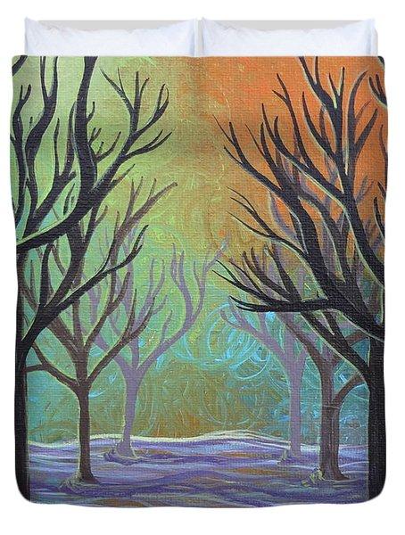 Winter Solitude 11 Duvet Cover