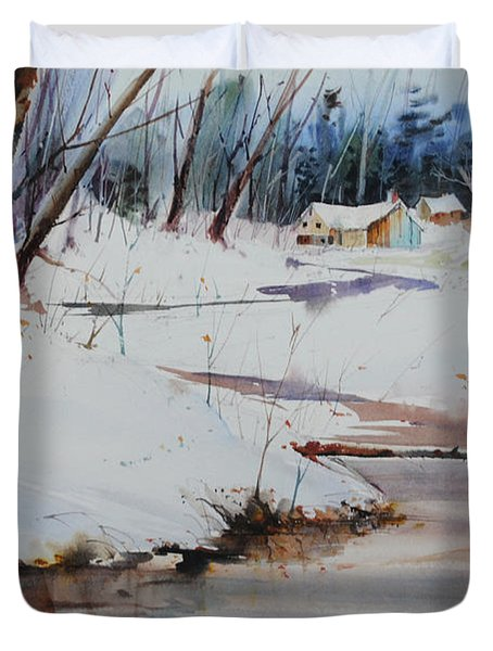 Winter Wonders Duvet Cover by P Anthony Visco