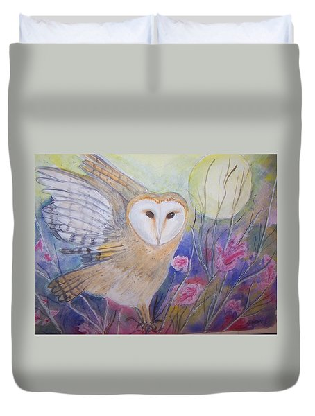 Wise Moon Duvet Cover