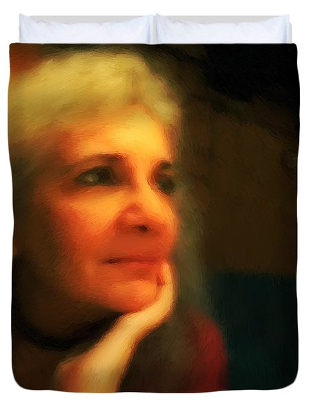 Wistful Duvet Cover by RC DeWinter