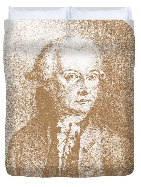 Wolfgang Amadeus Mozart, Austrian Duvet Cover by Photo Researchers, Inc.