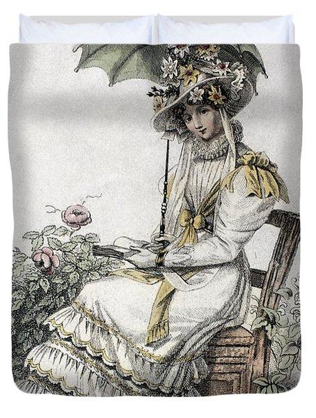 Womens Fashion, 1826 Duvet Cover