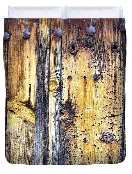 Wood Duvet Cover by Eena Bo