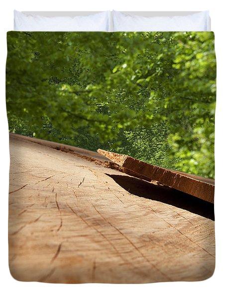 Wood Forest Duvet Cover by Michael Mogensen