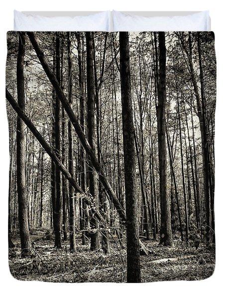 Woodland Duvet Cover by Lourry Legarde