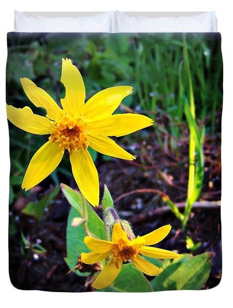 Woods Flower Duvet Cover