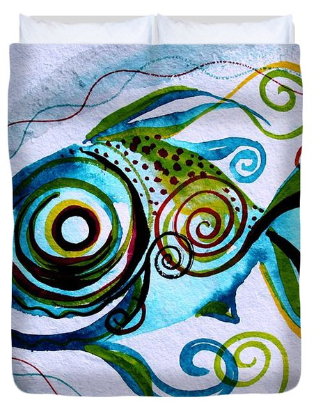 Wtfish 006 Duvet Cover