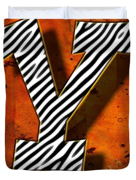 Y Duvet Cover by Mauro Celotti