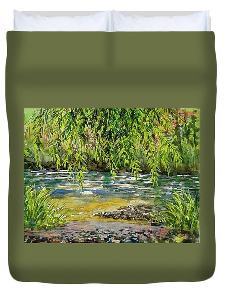 Yakima River Duvet Cover