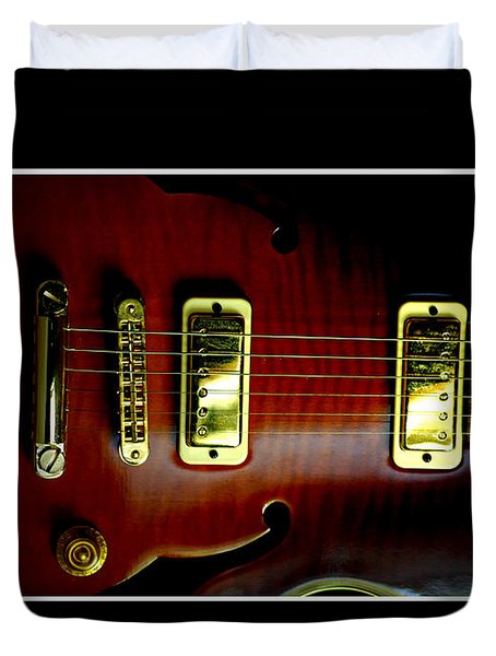 Yamaha Hollowbody 4 Duvet Cover