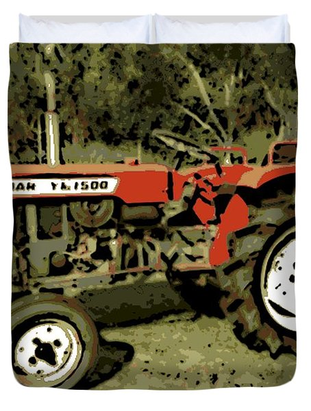 Yanmar Duvet Cover by George Pedro