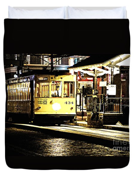 Ybor Train Duvet Cover