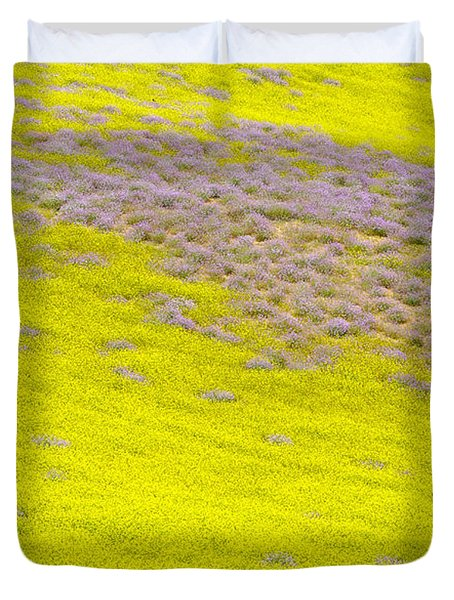 Yellow Fields Duvet Cover by Guido Montanes Castillo