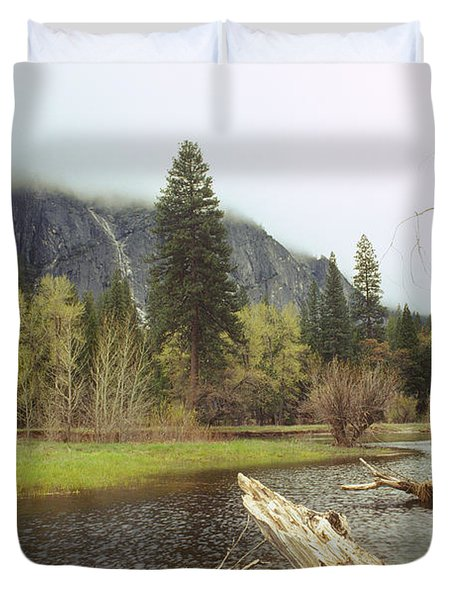 Yosemite Duvet Cover by Mark Greenberg