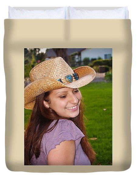 Young Jasmin Duvet Cover