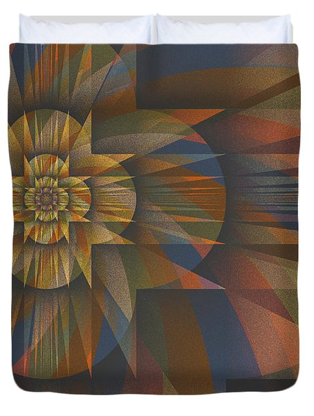 Z Divided By Z Minus 1 Duvet Cover by Mark Greenberg