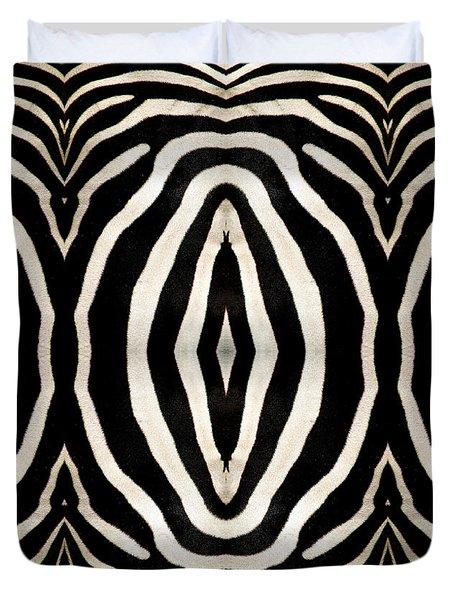 Zebra Hide Duvet Cover by Rose Santuci-Sofranko