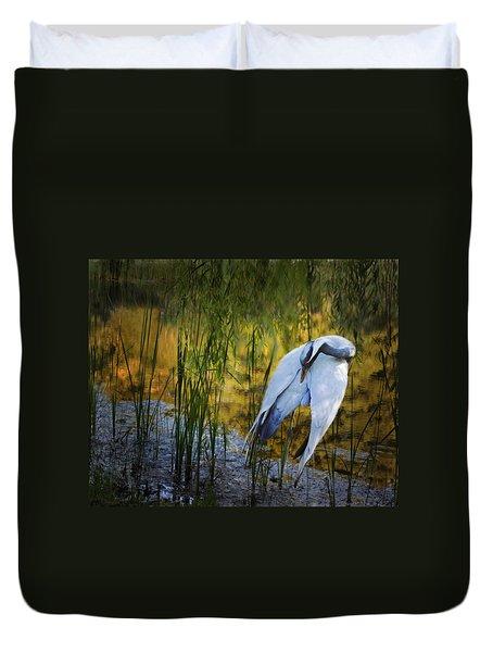 Zen Pond Duvet Cover